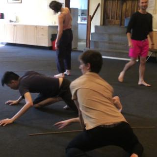 moving colours - company rehearsal
