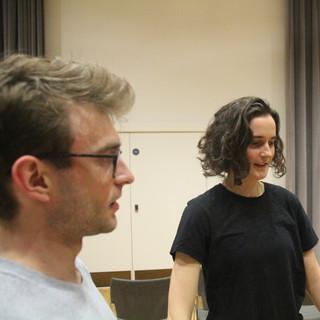 Venus & Adonis rehearsals - feeling the pulse