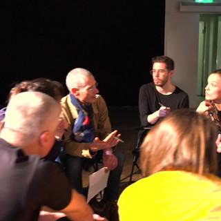 audience feedback Venus & Adonis scratch
