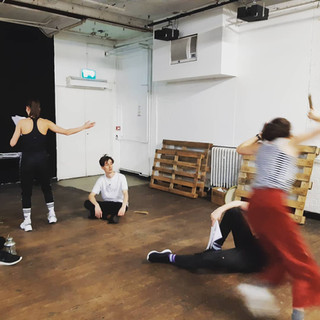 running around like a purblind hare - Venus & Adonis rehearsals