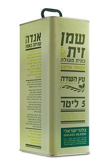 שמן זית בלנד ישראלי 5 ליטר