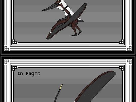 Pixel Nyctosaurus gracilis