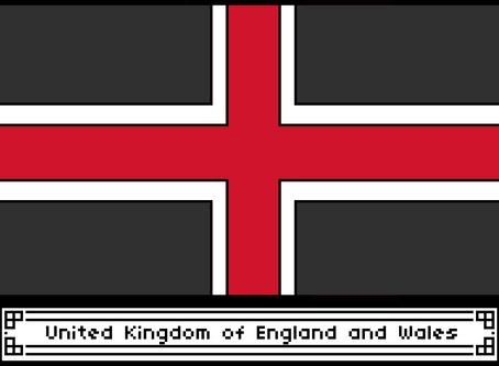 United Kingdom of England and Wales Flag