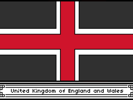 United Kingdom of England and Wales Flag