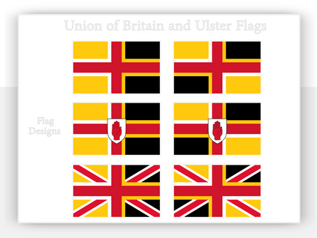 Union of Britain and Ulster Flags