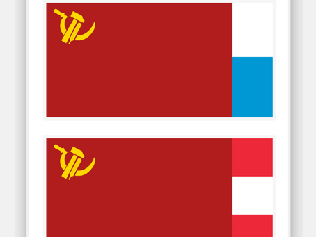 Union of Central European Soviets Flags