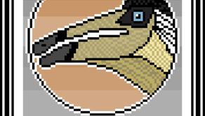 Pixel-Art Deinocheirus