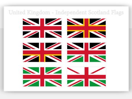 United Kingdom - Independent Scotland Flags