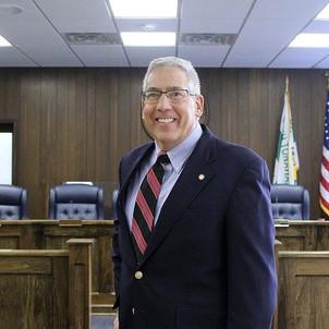 Bob Pecoraro in the Council Chambers