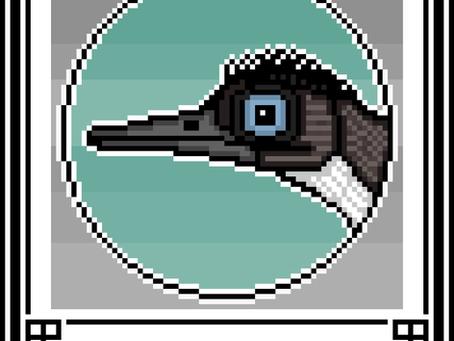 Pixel-Art Oculudentavis