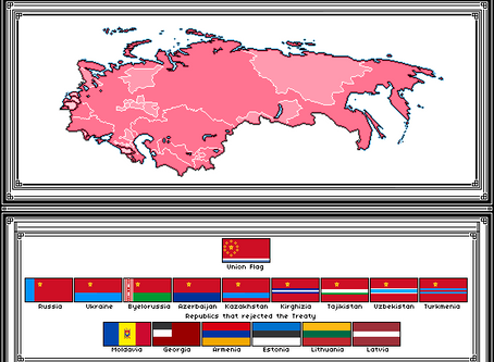 Union of Sovereign States Map