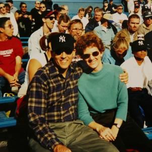 Bob and Laura Yankees Game.png