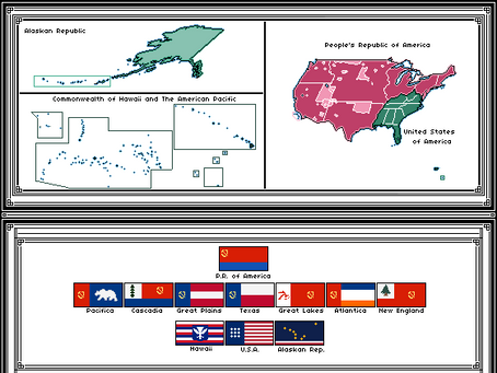 People's Republic of America and The Former USA