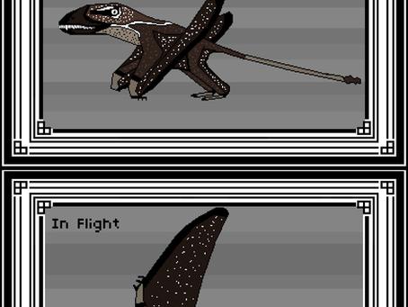 Pixel Dimorphodon macronyx