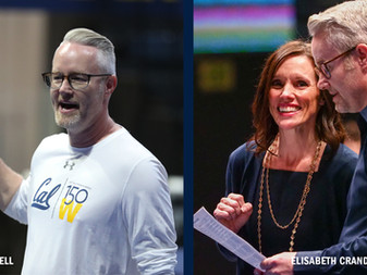 Q&A with Justin Howell and Elisabeth Crandall-Howell of Cal Women's Gymnastics