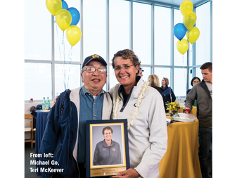 Michael Go Makes a Difference for Cal Swimming
