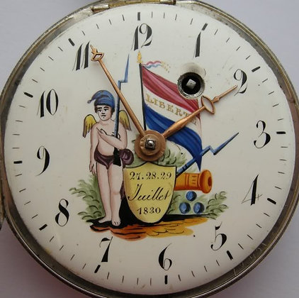 Rare revolutionary pocket watch