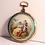 Thumbnail: Guex à Paris, 18K gold and enamel watch circa 1790