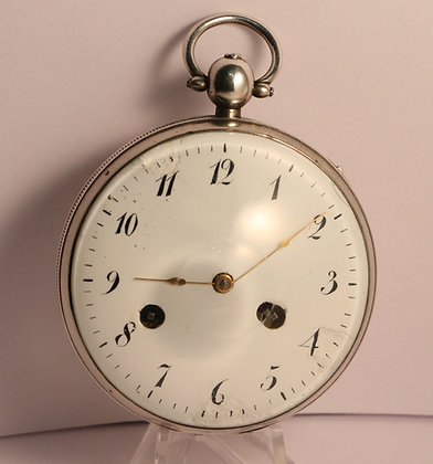 Self striking clock watch circa 1820
