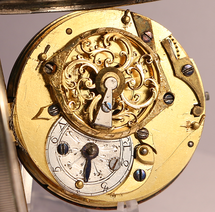 Verge pocket watch circa 1770