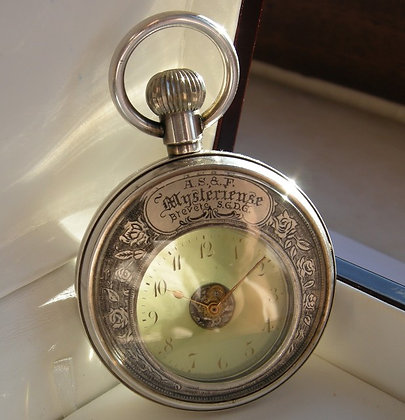 Mysterious pocket watch