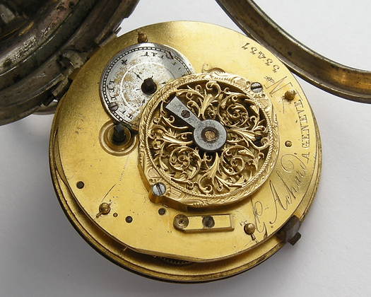 G. Achard à Genève, verge pocket watch