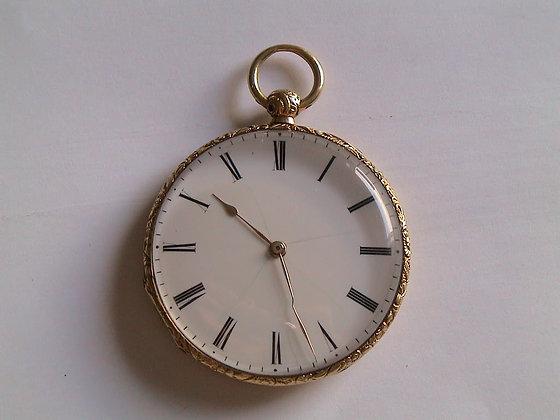 Lépine n° 466, 18K gold very thin watch