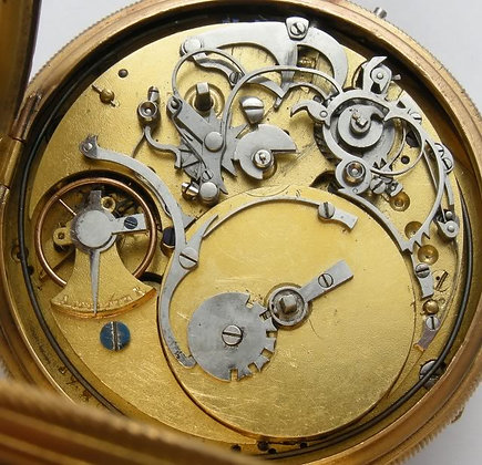 Breguet & Fils, musical pocket watch
