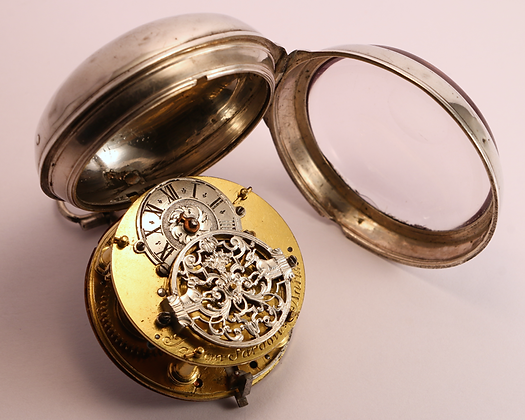 SOLD Oignon with silver cock circa 1720