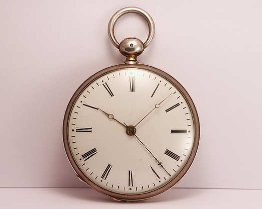 Pocket watch with dead beat seconds circa 1830