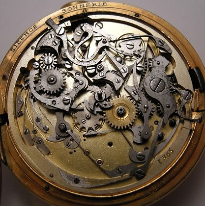 Grande Sonnerie pocket watch