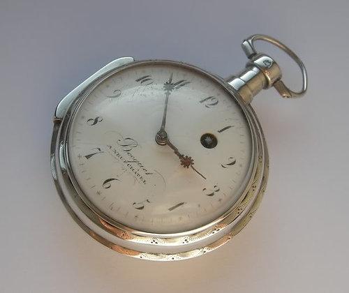 Becquet à Neufchatel, verge pocket watch