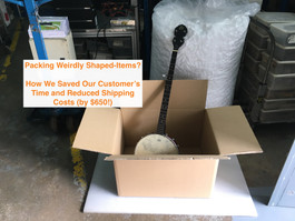 Need to Deliver Something Large or Weirdly-Shaped? Let JustShip save you Time and Money!
