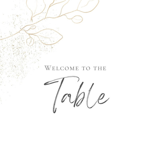 Welcome to the Table