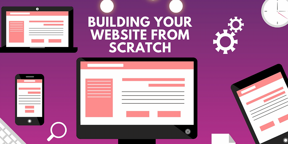 Building Your Website from Sratch