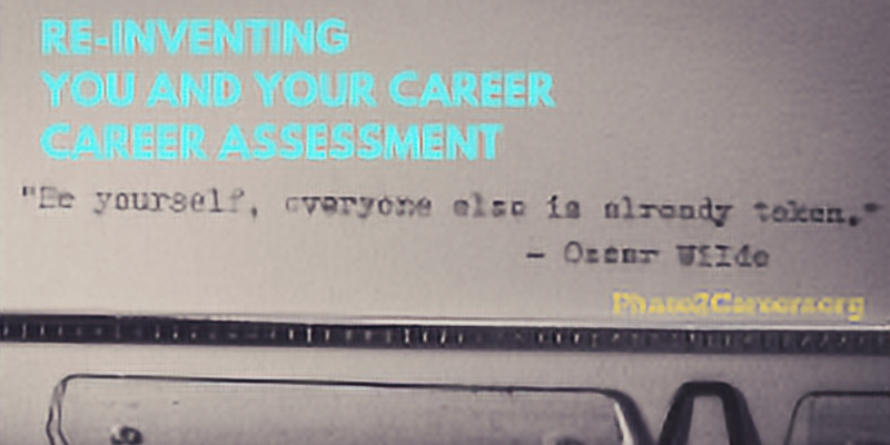 Reinventing You and your Career