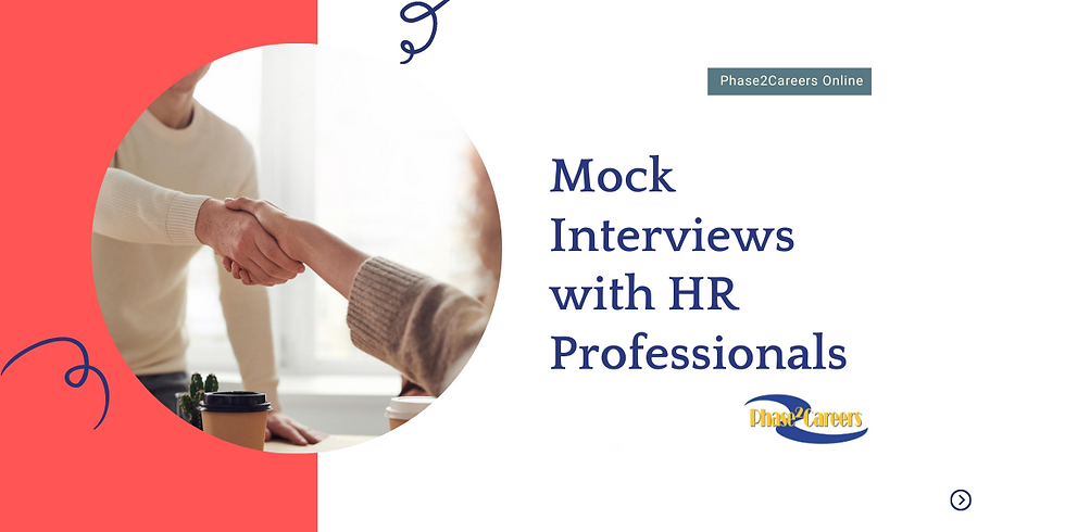 Mock Interviews with HR Professionals
