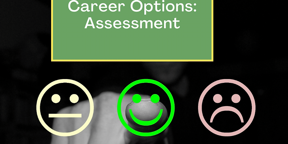 Identifying Your Career Options:  Assessment