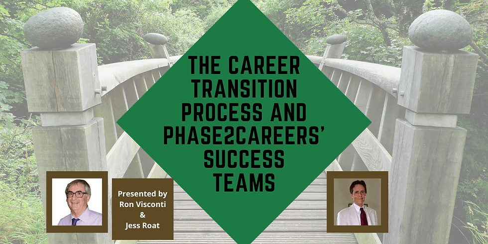 The Career Transition Process and Phase2Careers' Success Teams