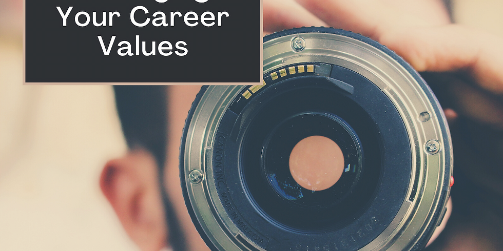 Clarifying Your Career Values