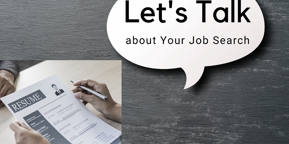 Let's Talk about Your Job Search