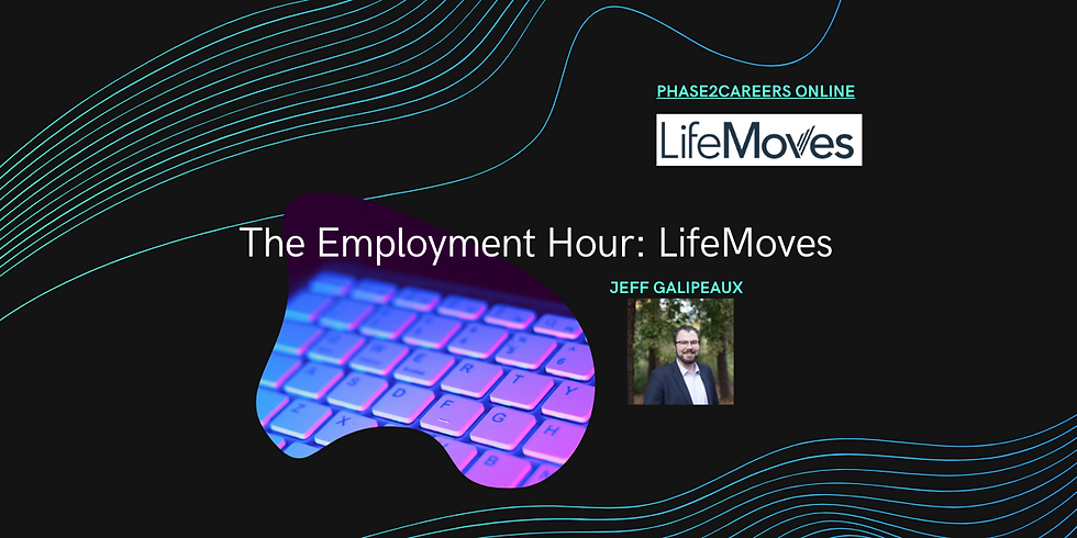 The Employment Hour: LifeMoves - Presented by Jeff Galipeaux