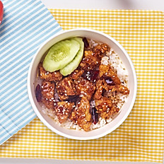 Korean Style Chicken Rice