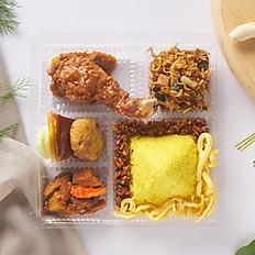 Nasi Kotak Kuning Melati