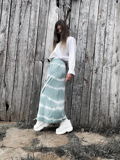 Falda tie-dye