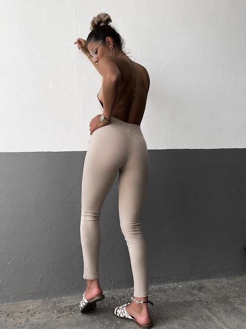 Mono canalé espalda