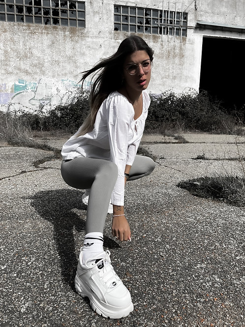 Blusa blanca basic