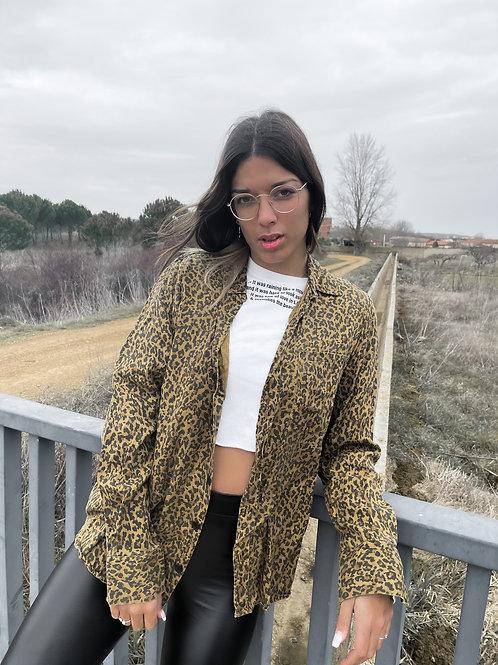 Sobrecamisa de leopardo