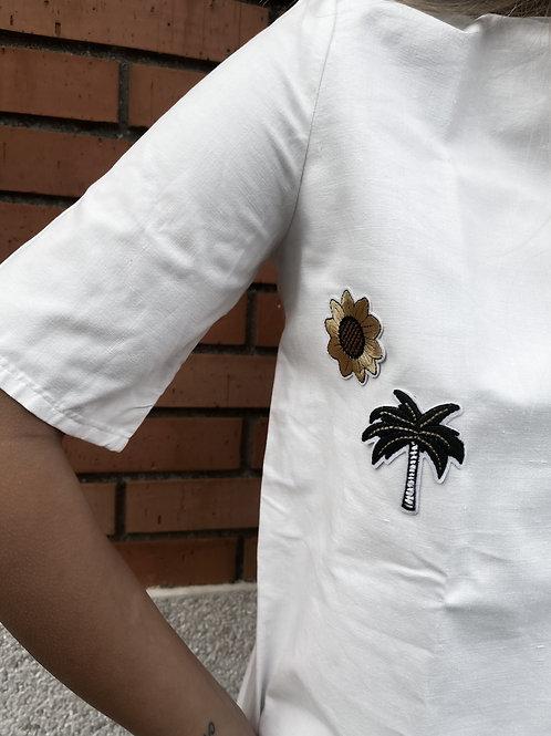 Camiseta flores by Natalia