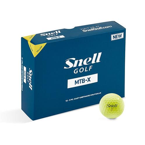 Snell MTB-X Yellow